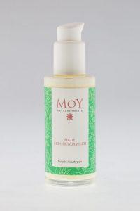 Milde Reinigungsmilch gegen Hautprobleme